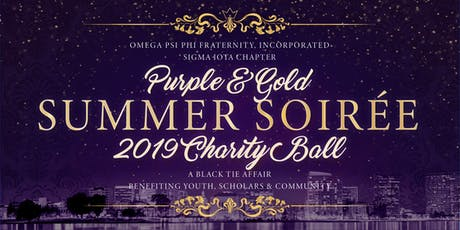 Purple & Gold Summer Soiree Charity Ball tickets