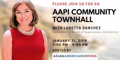 AAPI Community Townhall with Loretta Sanchez