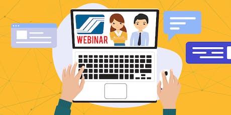 SSS Online Seminar/ Webinar tickets