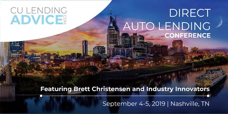 Direct Auto Lending Conference tickets