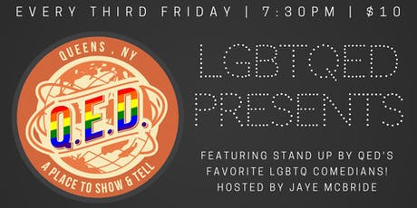 LGBTQED Presents tickets