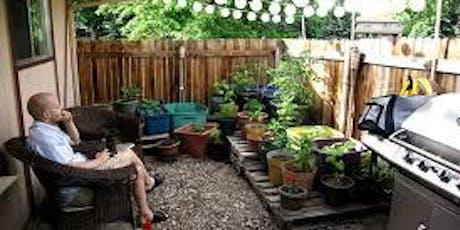 FREE Small space gardening workshop tickets