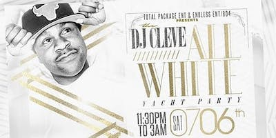 Dj Cleve All White Yacht Party