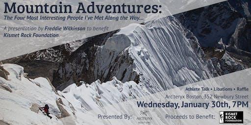 与弗雷迪·威尔金森的山地探险