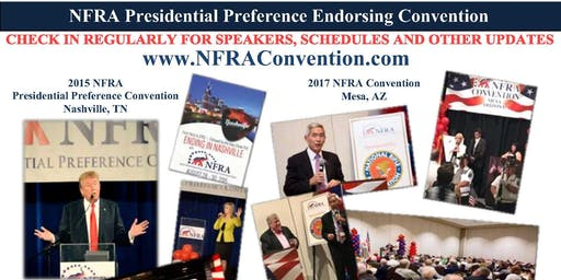 2019 National Federation of Republican Assemblies (NFRA) Convention