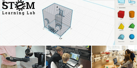 CALGARY: 3D Printing & Design Summer Camp (Ages 10-13) tickets