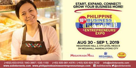 10th Philippine Business and Entrepreneurs' Expo 2019 tickets