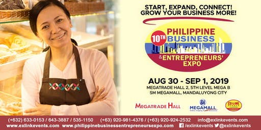 10th Philippine Business and Entrepreneurs' Expo 2019