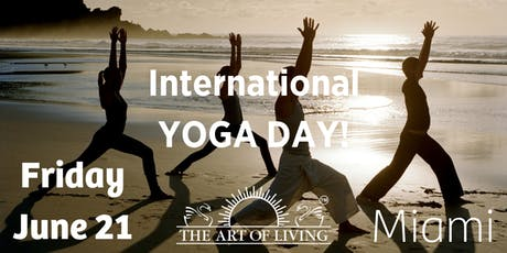 International Yoga Day.  (only  free tickets with Eventbrite) tickets