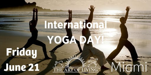 International Yoga Day.  (only  free tickets with Eventbrite)