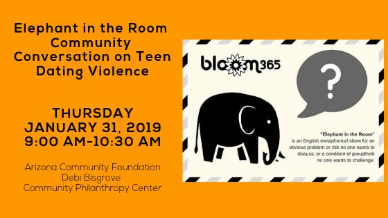 Elephant in the Room Community Conversation on Teen Dating Violence