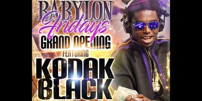 Kodak Black at Babylon Miami
