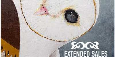 EXTENDED SALES - Beautiful Owl Painting