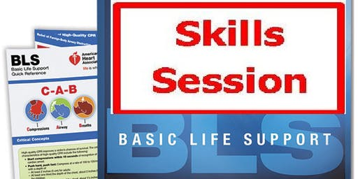 AHA BLS Skills Session September 20, 2019 (INCLUDES Provider Manual E-Book!) from 4 PM to 6 PM at Saving American Hearts, Inc. 6165 Lehman Drive Suite 202 Colorado Springs, Colorado 80918.
