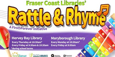 Rattle and Rhyme - Maryborough Library - 2 Years and Under