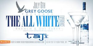 GREY GOOSE All White Independence Brunch and Day Party