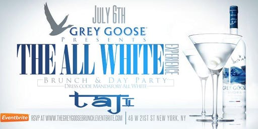 GREY GOOSE All White Independence Party