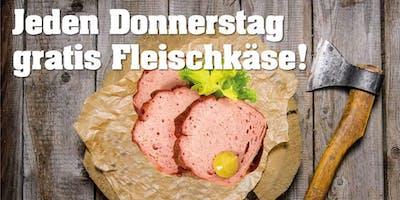 Jeden Donnerstag gratis Fleischkäse und DJ Santschi Oldschool Rock