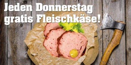 Jeden Donnerstag gratis Fleischkäse und DJ Santschi Oldschool Rock Tickets