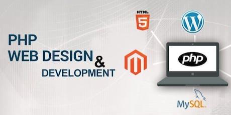 Delhi/NCR - Web Development with PHP/MySQL Training & Certification tickets