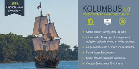 Kolumbus 4.O - Das Online-Intensiv-Training Tickets