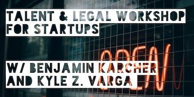 Talent & Legal Workshop for Start & Scale Ups / Copenhagen / Foundershouse