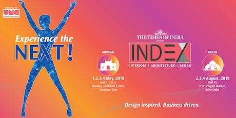 INDEX FAIRS 2019 (Delhi) tickets