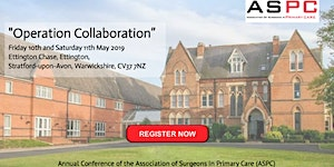 ASPC 2019 Conference Member Bookings - 'Operation...