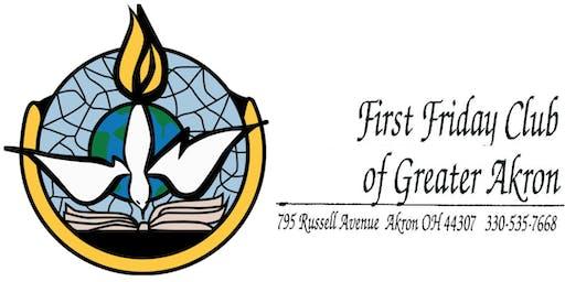First Friday Club of Greater Akron - December 2019 - John L. Allen, Jr. Assoc. Editor, Boston Globe, and senior Vatican analyst for CNN