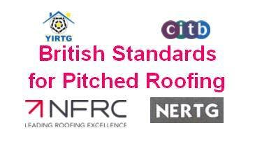 British Standards for Pitched Roofing - Rotherham