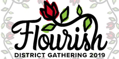 'Flourish' - the Yorkshire North & East District weekend tickets