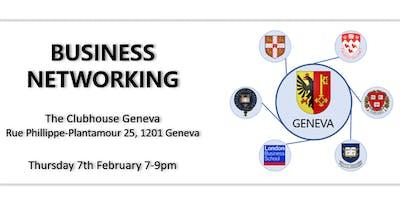 Business Networking Geneva - University Alumni