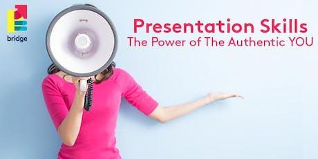 Leadership Series: Presentation Skills - Intensive Masterclass tickets