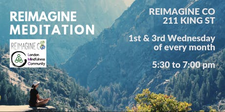 Reimagine Meditation tickets