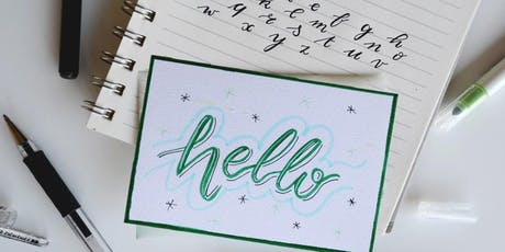 Handlettering Grundkurs | Workshop billets