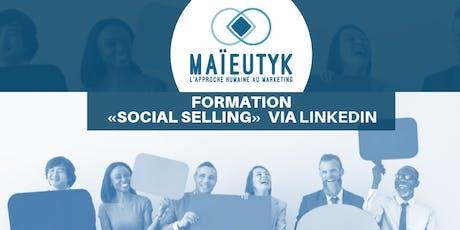 Formation Maïeutyk: Social Selling via LinkedIn billets