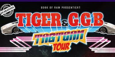 Tiger & G.G.B. - Tagteam Tour 2019 - Münster Skaters Palace Café
