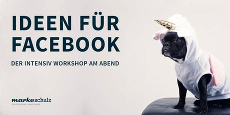 Workshop Facebook Ideen tickets