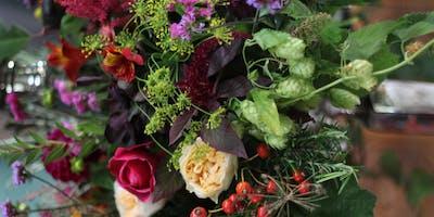 Autumnal Handtied Bouquet Workshop