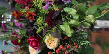 Autumnal Handtied Bouquet Workshop tickets