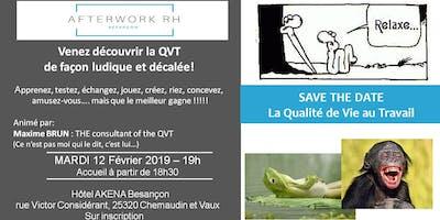 AfterWork RH Février: La QVT, de façon ludique et décalée