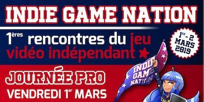 INDIE GAME NATION / Journée PRO
