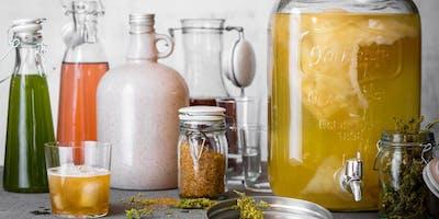 Atelier kombucha, kéfir de fruits, jus pétillants - Sherbrooke