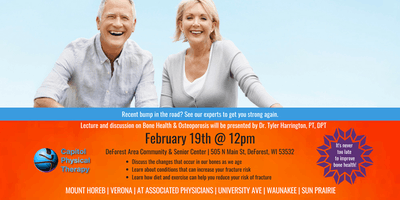 FREE Lecture on Bone Health & Osteoporosis
