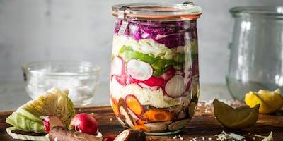 Atelier choucroute, kimchi et lacto-fermentations - Sherbrooke
