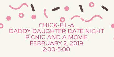 Daddy Daughter Picnic and a Movie