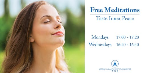 Free 20 Minute Meditations