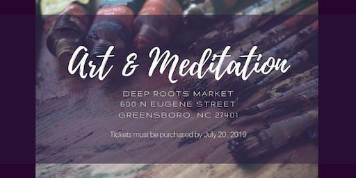 Art & Meditation Vibe Session