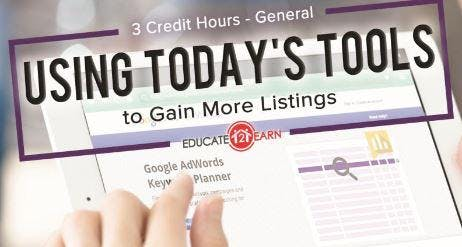 Using Today's Tools to Gain More Listings