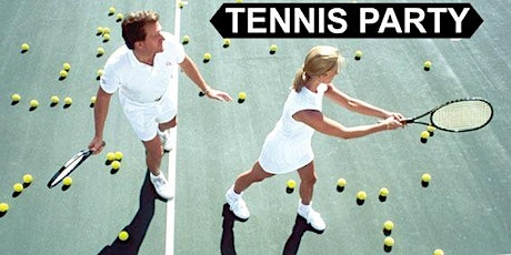 Singles Tennis Party followed by Dinner All Skill Levels  tickets